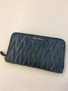 Miu miu wallet 銀包 — 不議價