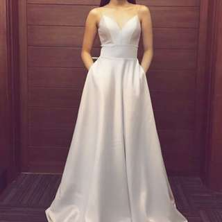 Apartment 8 Te Amo Gown in Gray