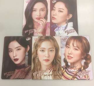 Red velvet yescard