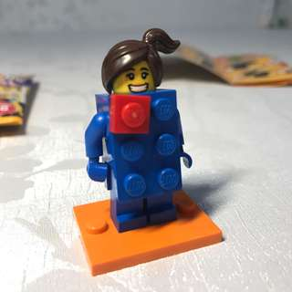 Lego 人仔 18代 lego 女 girl series18 Minifig