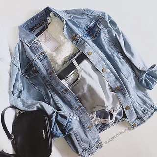 OVERSIZE THICK DENIM BERSKHA