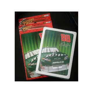 """NASCAR Winner's Circle Plastic coated playing Cards """"Dale Jr."""""""