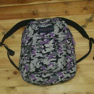 Jansport superbreak backpack camo original