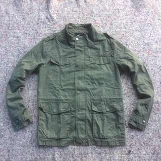 CLRIDE M1 FIELD PARKA JACKET GREEN ARMY