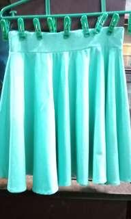 Skater Skirt in Mint Green