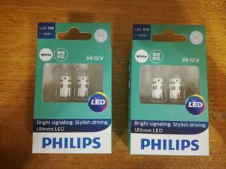 Philips T10 w5w LED.