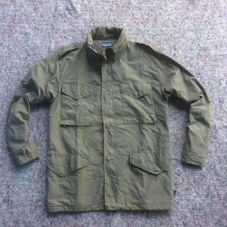 ANCESTRESS AND NORTH SEA PARKA FIELD JACKET GREEN ARMY