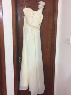 Bridesmaid Dress 長紗裙(香檳金色)