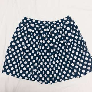 Forever21 Polka Skirt