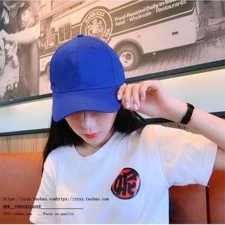 ROYAL BLUE BASEBALL CAP UNISEX