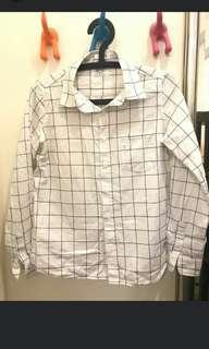 !徵收 類似款大格子襯衫  只換物!
