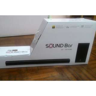 全新行貨LG 無線 Sound Bar SJ4 連無線Subwoofer (LG wireless Sounder SJ4 with wireless Subwoofer)