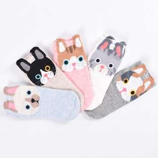 Cute Puppy Foot Socks