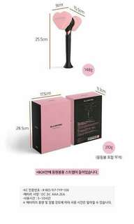 BLACKPINK OFFICIAL LIGHT STICK + LIMITED PHOTOCARD SET (for this batch only)
