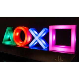 Playstation icon light