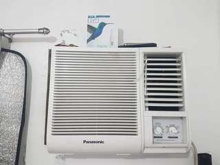 For sale Condura and Panasonic Aircon window type