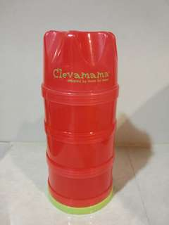 Clevamama infant formula and food dispenser/travel container