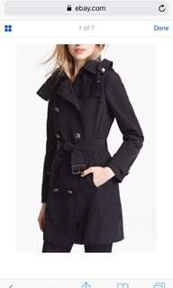 Brand NEW Burberry Balmoral Hooded Trench Coat