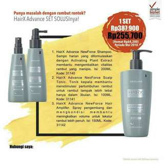 Paket Hemat HairX Advanced