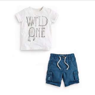 Boys Short Sleeve + Pants