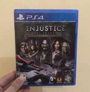 PS4 Games Bundle The Last of Us/Injustice/Final Fantasy XV