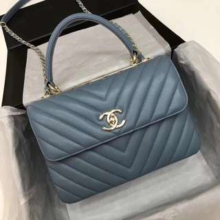 Chanel top handle