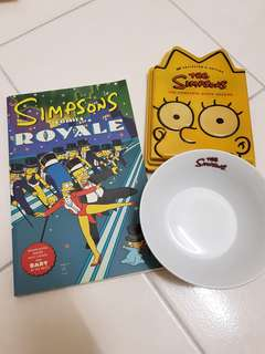 THE SIMPSONS Comic Bowl CD
