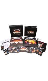 New Metallica Master of Puppets Deluxe Box Set