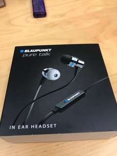 Blaupunkt Pure Talk In Ear Headaet