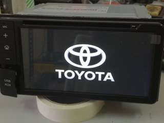 Toyota/Panasonic Original dvd Player
