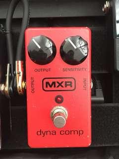 MXR DYNA COMP guitar pedal