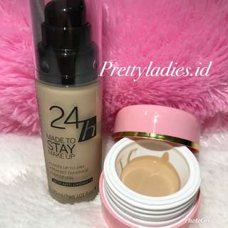 CATRICE - 24H Made To Stay Make Up Share In jar