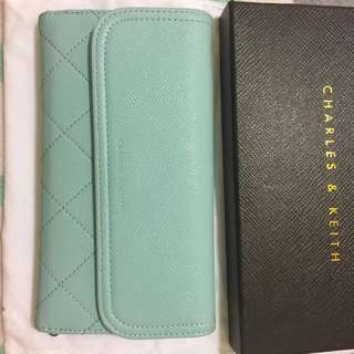 Charles & Keith Pastel Blue Wallet
