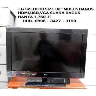 "LG 32LD330 Size 32""MuLus Jernih Suara Bagus KATAPANG SOREANG"