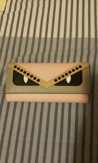 Fendi Multicolor Leather Wallet
