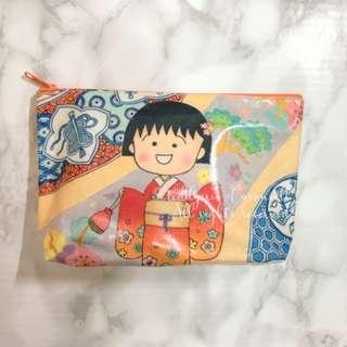 MADE IN JAPAN Chibimaruko Makeup Bag Pencil Case 小丸子筆袋化妝袋