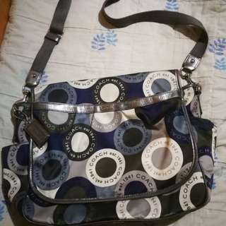Coach overnight bag