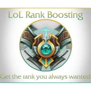 League Elo Boost