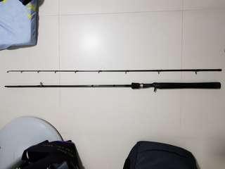Bc fishing rod & reel