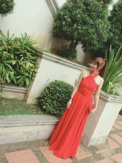 Long dress (Red)