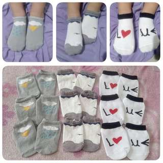 Korean Baby Socks For Boys 150.00/for 3 Pairs