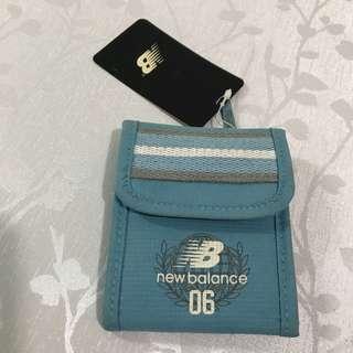 New balance 銀包 散紙包 藍色