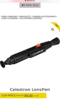 🚚 Camara lens cleaner相機鏡頭清潔筆