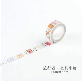 🌸Ready Stock🌸 Stationary Washi Tape per metre