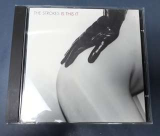 CD The Strokes - Is This It ( UK Press )