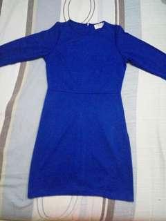 Blue Gaudi Dress