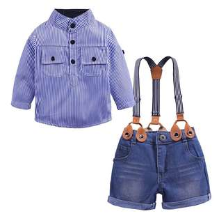 Boy suit + baby bib shorts