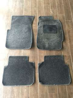Honda civic ES floormat halfcut condition
