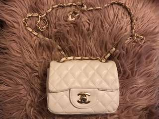 Chanel Logo Bag