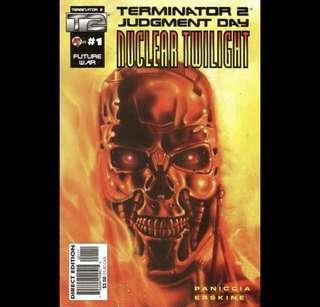 TERMINATOR 2 NUCLEAR TWILIGHT #1-4 (1995) Complete set